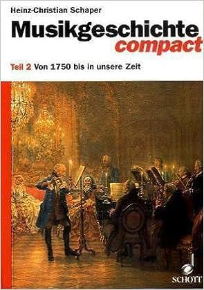 Book Musikgeschichte compact II.