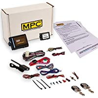 Complete Remote Start Kit with Keyless Entry For 2007-2011 Honda CR-V - Includes Bypass Module and (2) 5 Button Remotes