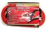 Motor Trend MT1012-CCA 12-Foot Copper Clad Aluminum Jumper Cables, 250