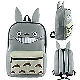 Siawasey Japanese Anime Cosplay Bookbag Backpack Shoulder Bag School Bag (Totoro)
