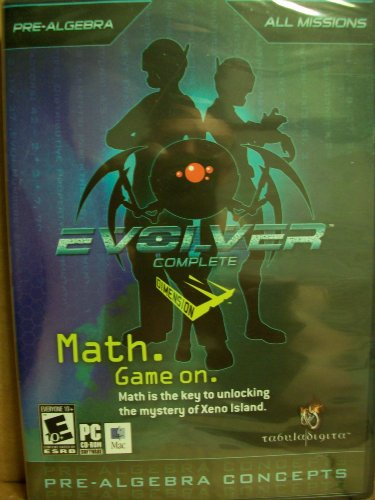 Pre-Algebra Concepts: Evolver Complete: Math is the Key to Unlocking the Mystery of Xeno Island.