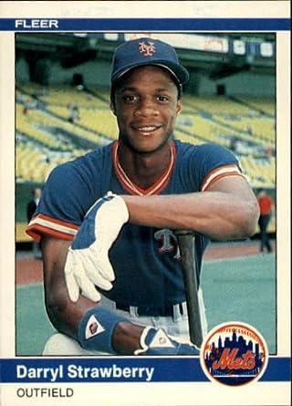 Amazoncom 1984 Fleer Baseball Rookie Card 599 Darryl