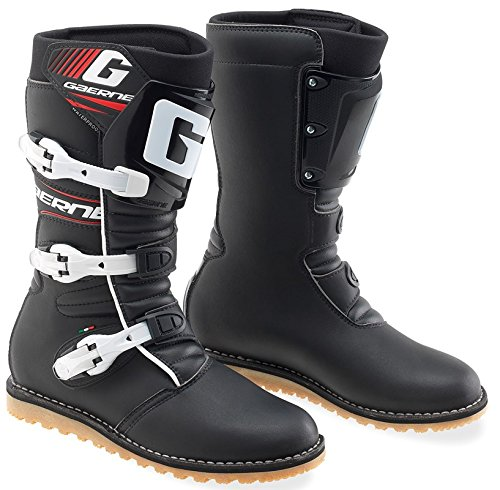 Gaerne Balance Classic Boots, Primary Color: Black, Size: 13, Distinct Name: Classic, Gender: - Oiled Balance Gaerne Boots