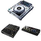 Pioneer DJ Set: 2  CDJ-2000-NXS Digital DJ Turntables, DJM-900NXS...