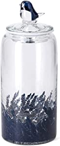 Imax Art Glass Canister