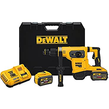DeWalt DCH481X2 SDS MAX 60V 1-9/16 Combination Hammer Kit