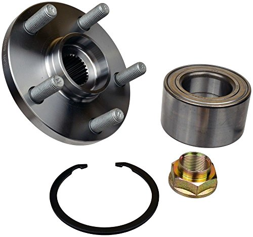 (DTA NT930598K Front Wheel Hub Wheel Bearing Kit Left or Right Toyota Corolla Celica Matrix Vibe 1.8L Only Replaces BR930598K, 510070, 930-406)