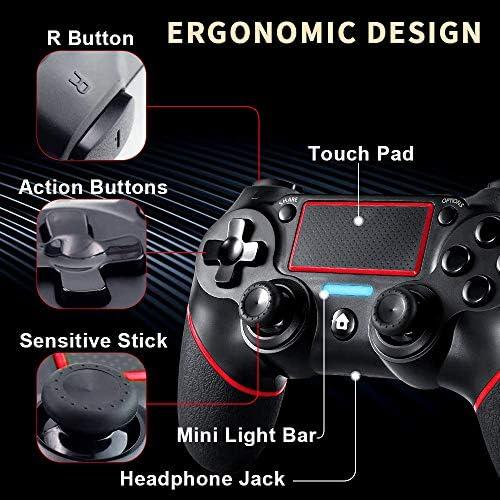 GEEMEE Manette pour PS4, Bluetooth - Actualités des Jeux Videos