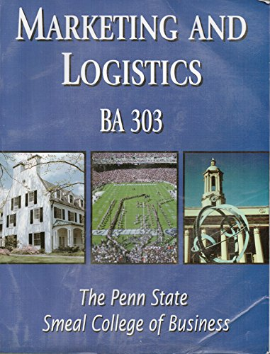 Marketing and Logistics [BA 303]