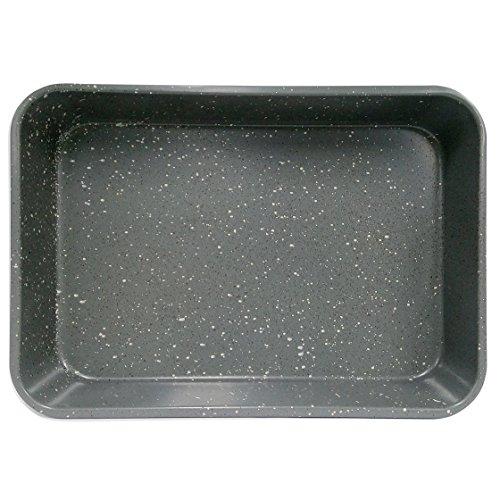 casaWare Grande Lasagna/Roaster Pan 18 x 12 x 3-Inch - Extra Large, Ceramic Coated NonStick (Silver Granite) by casaWare (Image #2)