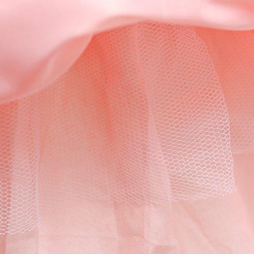 Sposa Di 9 Età Da Principessa Da 3 Anni Vestito Weonedream Abiti Tutù Tulle Da Spettacolo Festa Ragazza Rosa Di qzRF4Sw