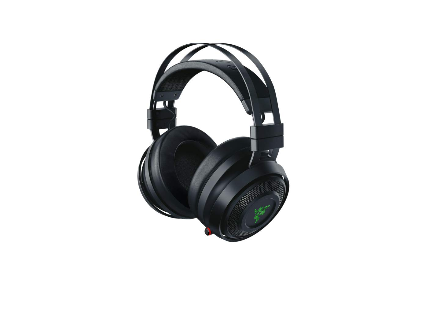 Razer Nari Wireless: THX Spatial Audio - Cooling Gel-Infused Cushions - 2.4GHz Wireless Audio - Mic with Game/Chat Balance - Gaming Headset Works for PC, PS4, Xbox One, Switch & Mobile Devices