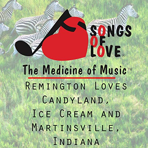 Remington Loves Candyland, Ice Cream and Martinsville, Indiana -