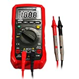 Dr.meter Backlit Digital Multimeter test Volt Ohm Diode Continuity Capacitance Resistance hFE Test