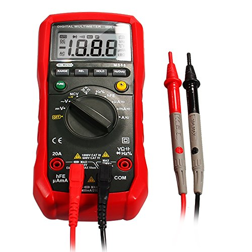 Digital Multimeter Meter Reading : Dr meter digital multimeter tester non contact voltage