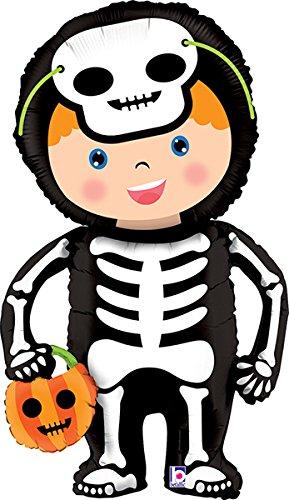 40 Inch Halloween Linky Skeleton Balloon - 5 Pieces ()