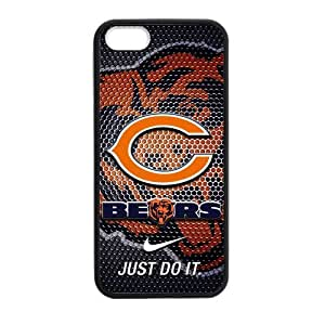 NFL Chicago Bears For HTC One M9 Phone Case Cover PC Silicone Custom Fashion pragmatic Stylish For HTC One M9 Phone Case Cover at Big-dream