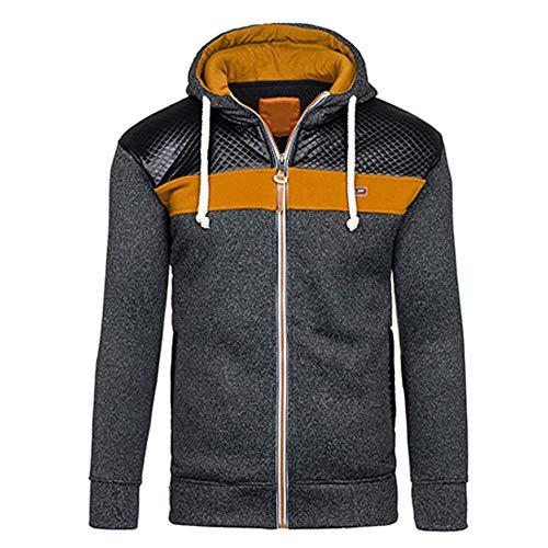 Mode Noir Polaire De Hommes Capuche Style Automne Chaud Nouveau Chandail Manteau À Pour La Hiver XxBfWv