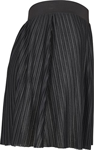 Donna Mini Classics Gonna black Urban Schwarz 00007 Jersey Pleated fXAvq
