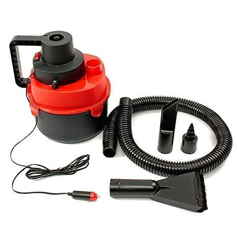 Rosa Lagarto 12 V Mini portátil en seco mojado aspiradora alfombra coche barco aire inflar bomba: Amazon.es: Coche y moto