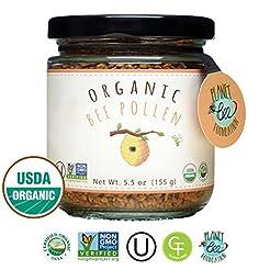 GREENBOW Organic Bee Pollen - 100% USDA ...