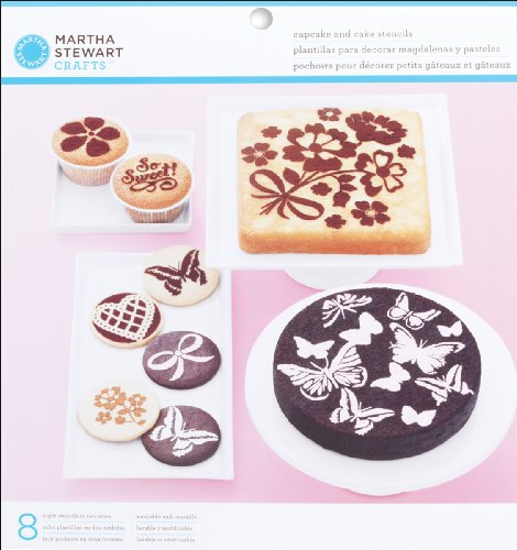 Martha Stewart Crafts EK Success Vintage Girl Cake and Cupcake Stencils