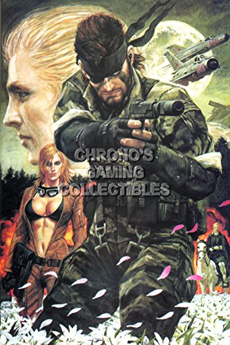 (Metal Gear Solid CGC Huge Poster Glossy Finish 3 PS2 PS3 - MGS307 (24