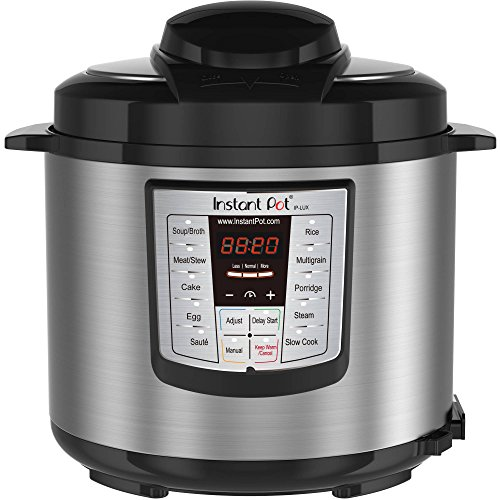 Newest Model Instant Pot Lux V3 6-qt 6-In-1 Multi-Functional Electric Pressure Cooker, Stainless Steel