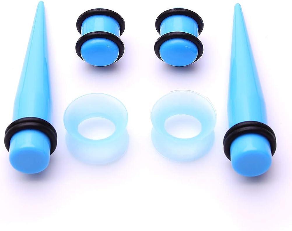 Amazon.com: JieyueJewelry - Juego de 50 dilatadores de oreja ...