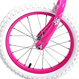 "16"" Children BMX Girls Kids Bike Bicycle With Training Wheels Steel Frame 16G"