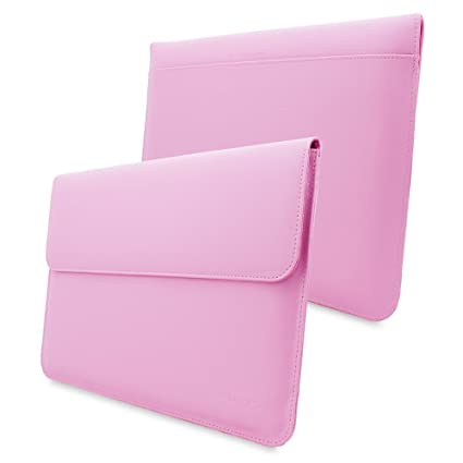 "Snugg - Funda Blanda para Ordenador portátil Apple MacBook 12"", Color Rosa"