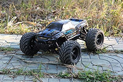 FMTStore 35+MPH 1/12 Scale RTR Remote control Brushed Electric RC Car 2.4Ghz 2WD High Speed Remote Controlled Car Truck