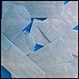 Vellum Glassines Stamp Wax Paper 600 Waxed Bags (22 mm) Choose a Color (Blue)