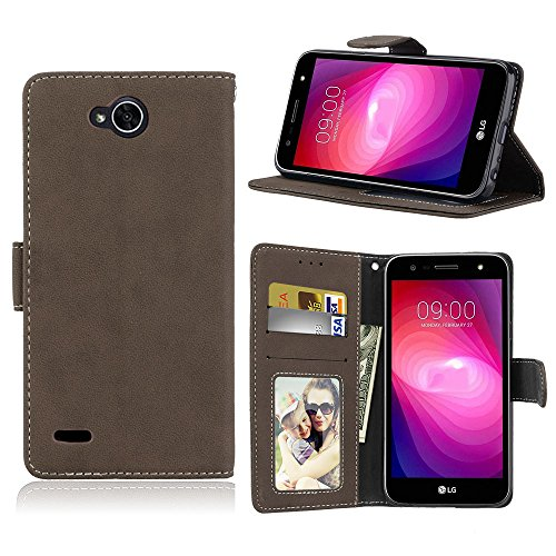 Housse Coque Couleur Avec Étui Stand Power Pu De Lg Housse Meet Case Protection Flip Givré Magnétique X Cover Brown Portefeuille Etui Unie Support Leather 2 Cartes Coque Case Des ggv0rw