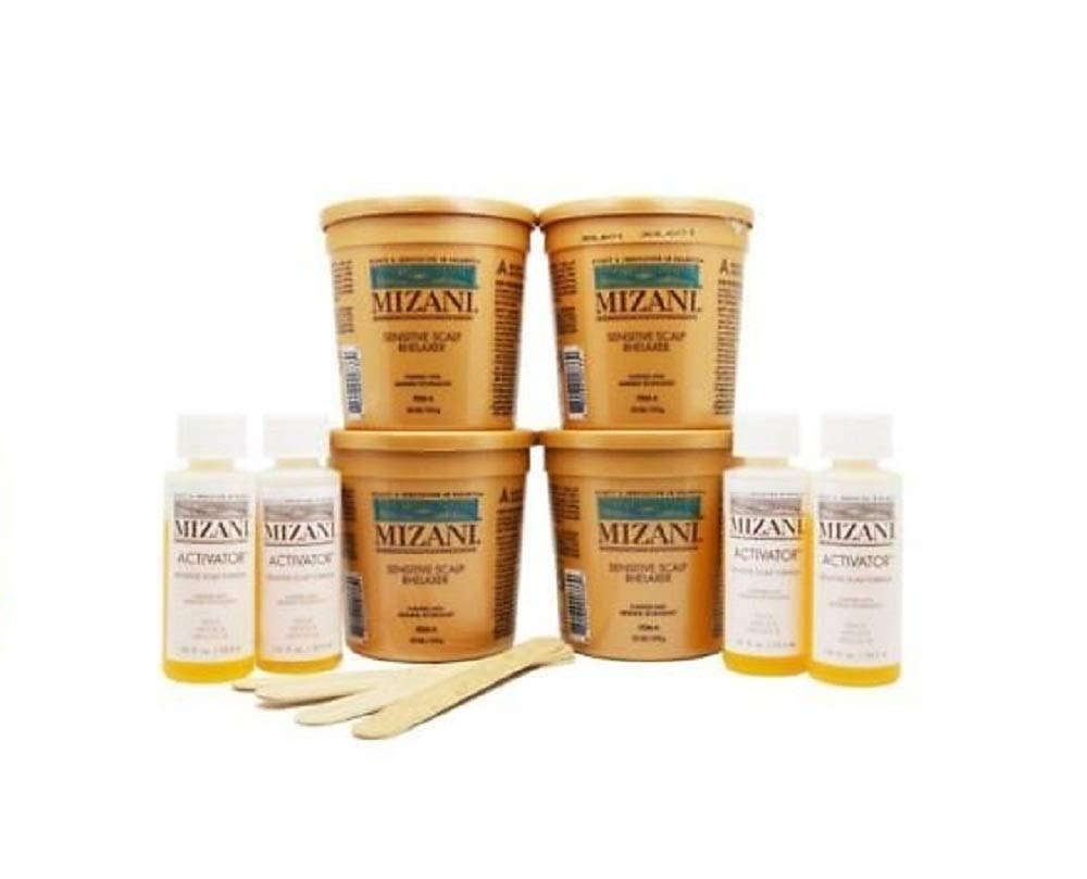 Mizani Butter Blend Sensitive Scalp Relaxer Kit For Unisex