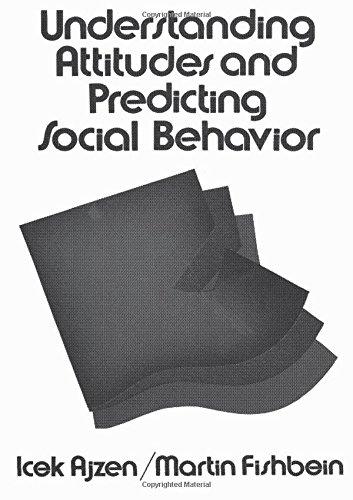 Understanding Attitudes and Predicting Social Behavior