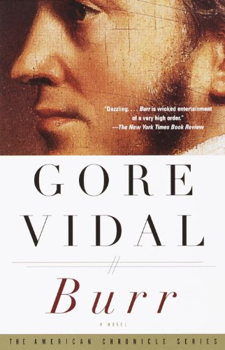 Image result for burr by gore vidal