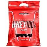 Super Whey 100% Pure, Refil Chocolate, IntegralMedica, 1800 g
