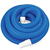 1.5-inch Spiral Wound Swimming Pool Vacuum Hose with Swivel Cuff by SplashTech
