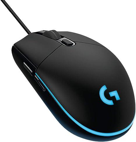 Logitech G203 Prodigy Ratón Gaming con cable, 8000 DPI, RGB LED ...
