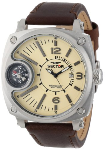 Sector Men's R3251207005 Mountain Compass Analog Stainless Steel Watch