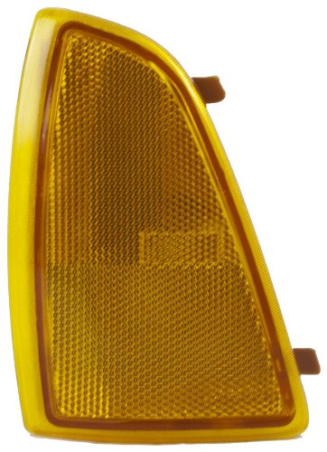 OE Replacement Chevrolet S10 Front Driver Side Marker Light Assembly (Partslink Number -
