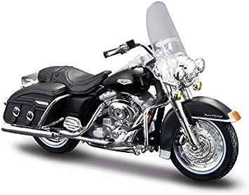 Motorrad Modell 1:18 Harley Davidson 1999 FLHR Road King schwarz von Maisto
