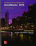 Gen Combo Mp Computer Accounting W/ Quickbooks 2015 CD-ROM; Connect AC 17th Edition