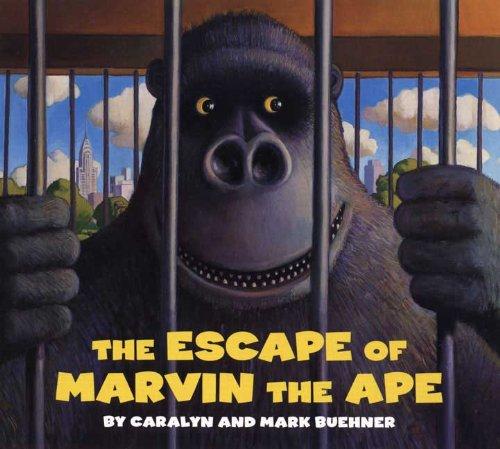 Escape of Marvin the Ape Board Book