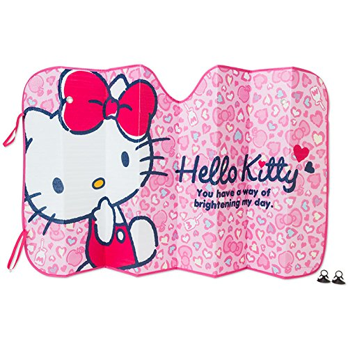 Hello Kitty front sun shade (heart)
