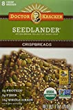 Doctor Kracker Organic Crispbread, Seedlander, 7 Ounce (Pack of 6)