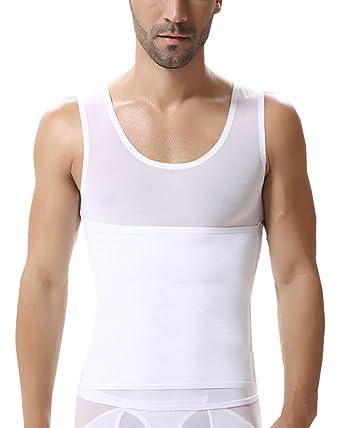 f54022a028e Hommes Elastique Skinny Ventre Plat Corset Ventre Minceur Gilet Body  Sculptant  Amazon.fr  Vêtements et accessoires