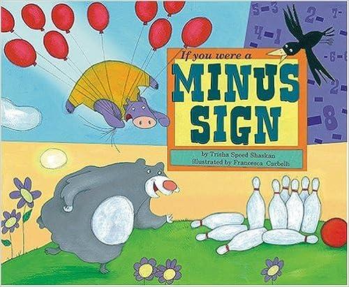 Book If You Were a Minus Sign (Math Fun)