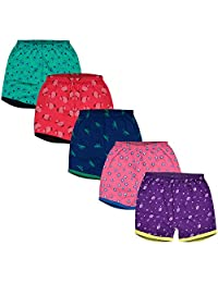 MYKID Unisex Cotton Shorts for Babies - Pack of 5